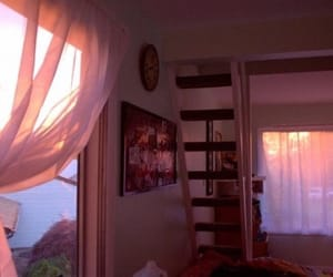 decor, pink, and sunset image