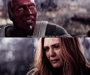 Avengers, elizabeth olsen, and paul bettany image