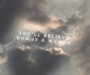 clouds, god, and sweetner image