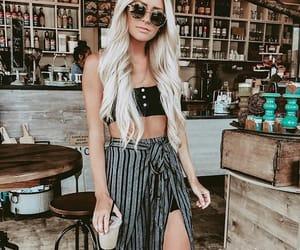 beauty, fashion, and girls image