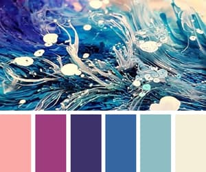 art, blue, and color image