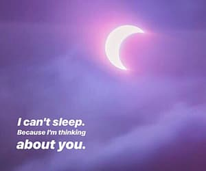 i miss you, moon, and night image