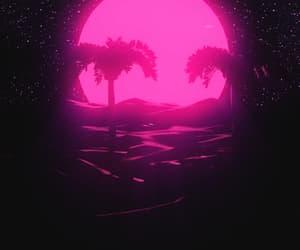 gif, stars, and pink image
