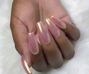 pink, i need, and long nails image