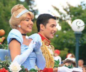 cinderella, disneyland, and prince charming image