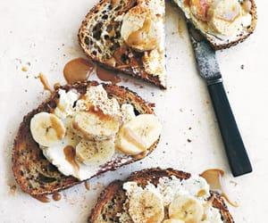 banana, food, and ricotta image