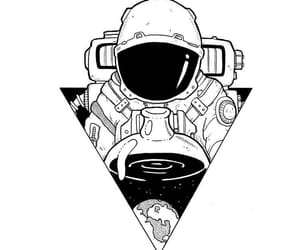 art, cool, and astronaut image