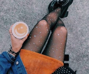 coffee, denim, and drinks image