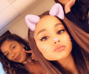 ariana grande, victoria monet, and ig image