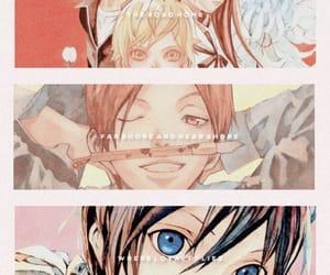 anime, anime girl, and god of calamity image