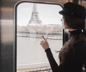 girl, indie, and paris image