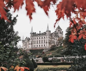 adventure, autumn, and castle image
