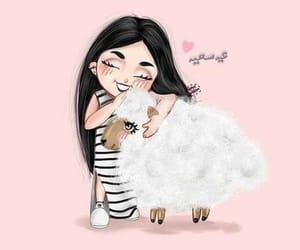 arab, arabic, and goat image