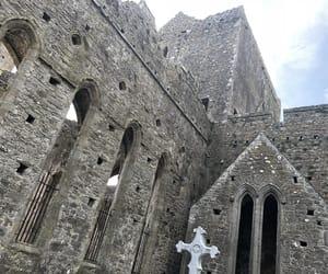 castle, ireland, and gravestone image