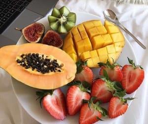 food, fresh, and mango image
