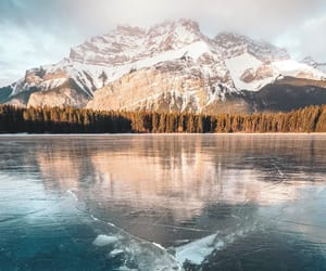 canada, mountains, and up image