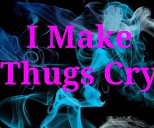 cry, thuglife, and thug image