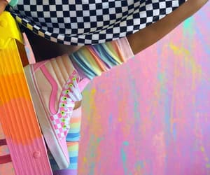 colorful, sport, and vans image