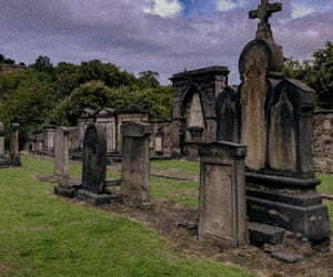 cemetery, dead, and ghosts image