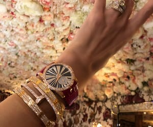 cartier, chic, and flowers image