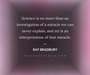 philosophy, Ray Bradbury, and quotes image
