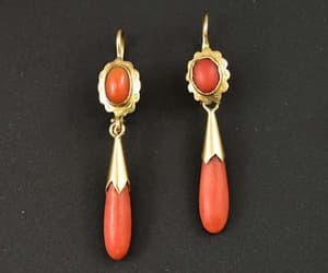 antique, charm, and coral image