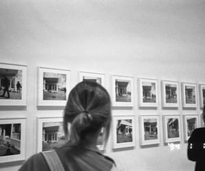 black and white, girl, and film image