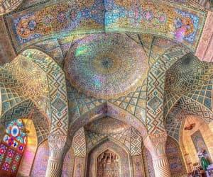 iran and rosa mezquita image