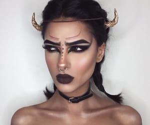 makeup, Halloween, and taurus image