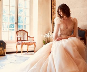 angelic, ball gown, and beauty image