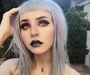 beauty, dreads, and pastel goth image