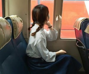asian, tren, and girl image