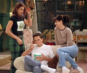 90s, fashion, and chandler bing image