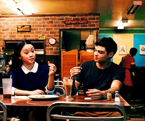 couple, gif, and lara jean covey image
