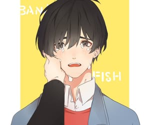 anime, boy, and cry image
