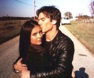 couple, elena, and vd image