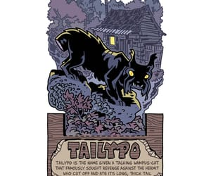 cryptid, Halloween, and papercraft image