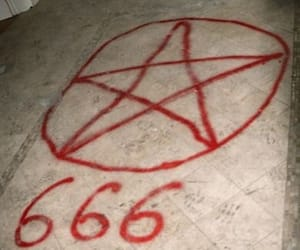 666, lucifer, and the devil image