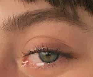 blue eyes, green eyes, and sad image