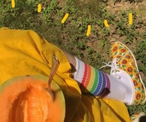 fruit, papaya, and summer image