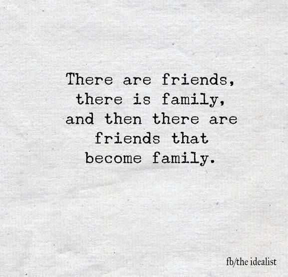 Friends become like family ♡♡♡ for more family fun, go to ...