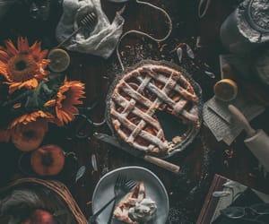 autumn, black, and crust image