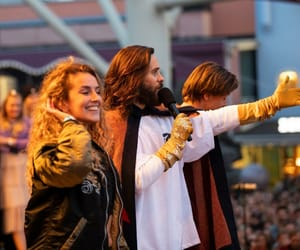 30 seconds to mars, jared leto, and sweden image