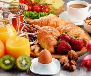 beautiful, breakfast, and caffee image