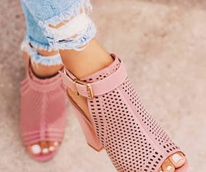 shoes and pink shoe image