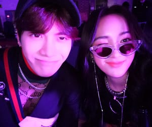 jackson, jia meng, and JYP image