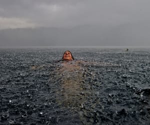 autumn, rain, and storm image