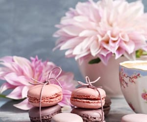 decoration, flower, and food image