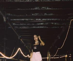 black, blackpink, and jennie kim image