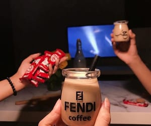 arab, friends, and coffee image